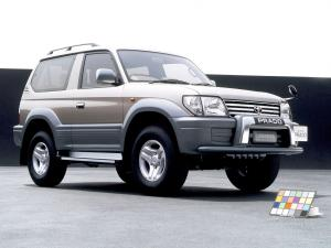 1999 Toyota Land Cruiser Prado 90 3-Door